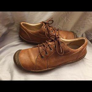 KEEN men's BOHO leather oxford lace up shoes Sz 12